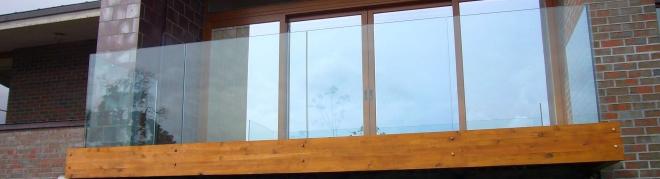 Üvegkorlátok és üvegfalak